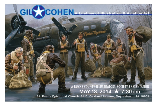 BCIS Special Event – Gil Cohen: A Lifetime of Illustration and Aviation Art