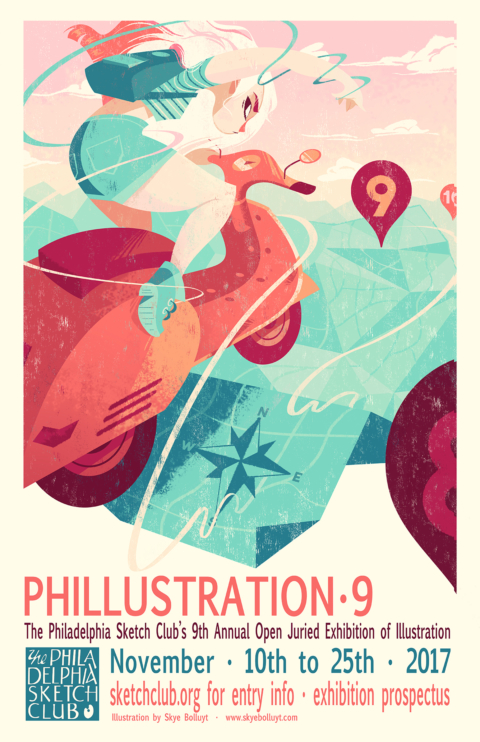 CALL FOR ENTRIES: Phillustration 9!